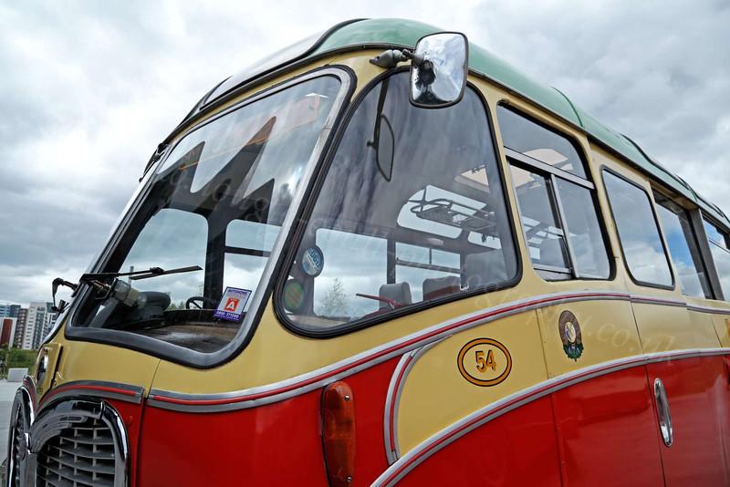 Vintage MacBrayne's Bus - Riverside Museum - 17 June 2012