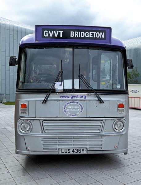 GVVT Vintage Bus - Riverside Museum - 17 June 2012