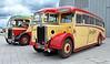 Vintage Buses - Riverside Museum - 17 June 2012