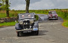 A Riley and MG arrive at Cornalees Visitor Centre - 8 June 2014
