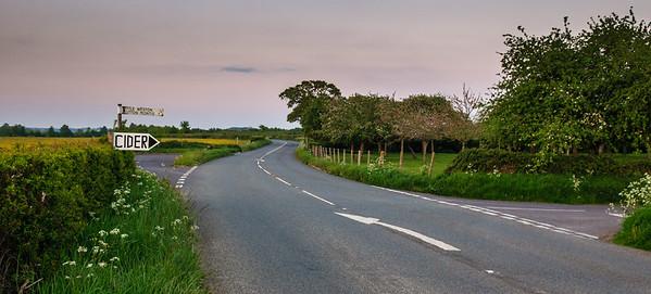 Somerset cider sign
