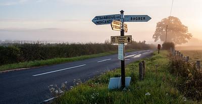 Country lane in Dorset