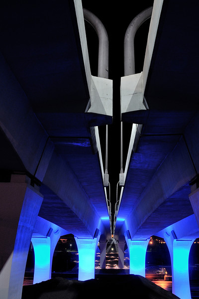 The Blue Bridge from Below