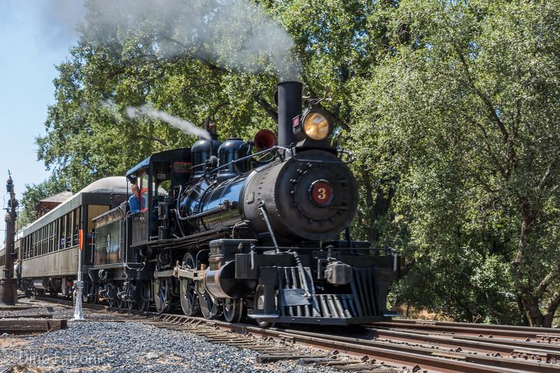 Sierra Railway Steam Train