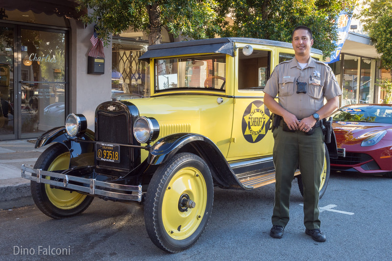 1925 Chevy Sheriff Vehicale