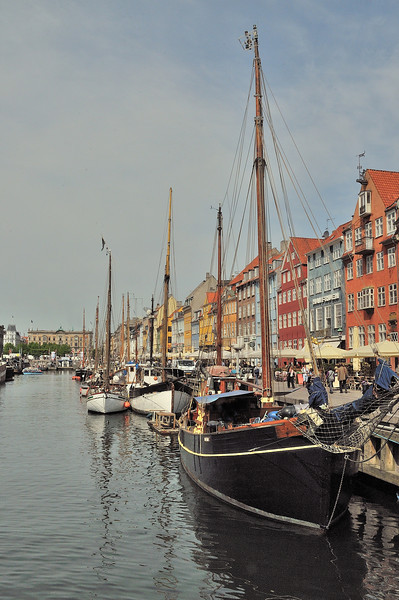Boats Along the Nyhavn Canal