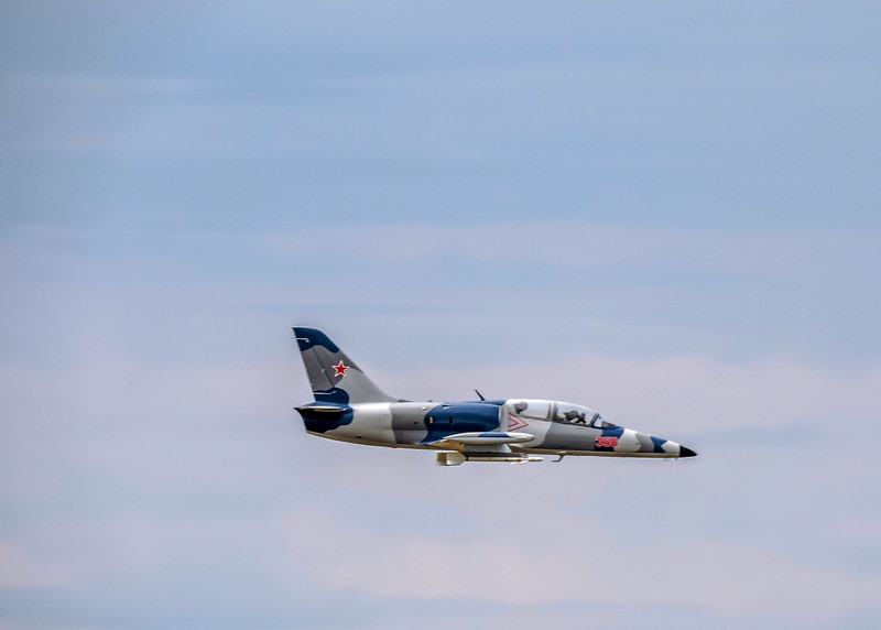 Jet at Olympic Air Show