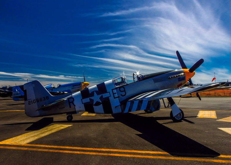 P51 Mustang  Olympic Air Show