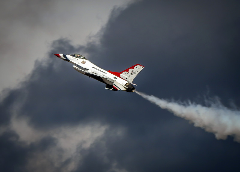 Thunderbird climbing
