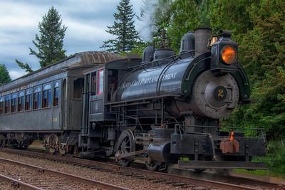Steam Engine North Bend WA Depot