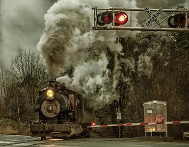 Steam Engine Square Photo