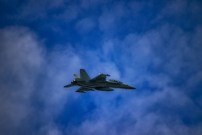 Into the Wild Blue Yonder Navy Fighter Jet F18 NAS Whidbey Deception Pass 5-22-19