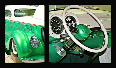 Radical Custom Rod Coupe Collage
