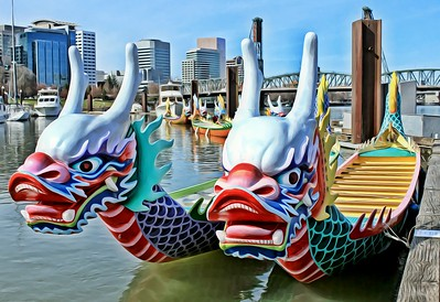 Dragon Boats of Portland