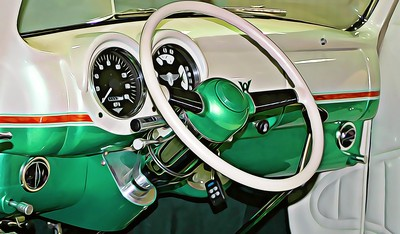 Dashboard of Radical Custom Rod Coupe