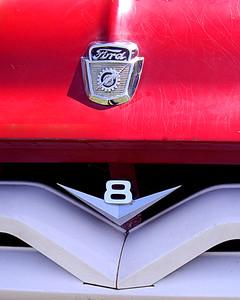 V-8 in Red