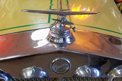 Late 20s Franklin Spirit of St Louis Hood Ornament-53
