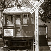 """The Pacific Electric's Southern District was completed in 1902.  In 1903, Philip Stanton organized the Bay City Land Co. which developed the townsite of Bay City.  """"Red Car"""" service began in 1904 transporting tourists and early residents.  The town was incorporated in 1915 and renamed Seal Beach."""