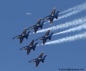 An intruder in the Delta V!   (Blue Angels)     Notes Here.  Get notifications via: