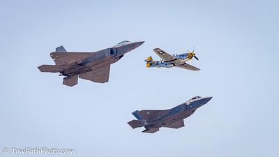 F-22 Raptor / P-51 / F-35 Lightning II