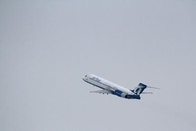 AirTran Boeing 717-2BD departing Akron-Canton (CAK) 01/06/13