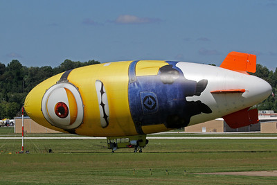 Despicable Me Minion Blimp