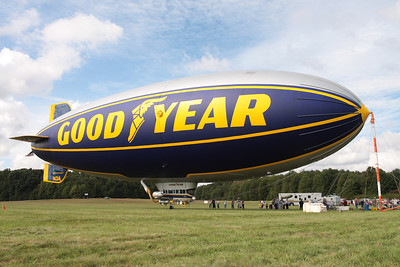 Goodyear Blimp docked at Kent State Airport, Stow, Ohio
