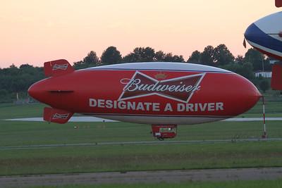 BUDWEISER 'DESIGNATE A DRIVER' BLIMP