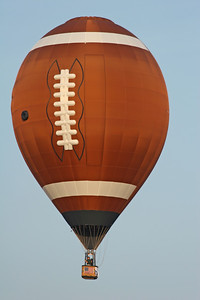 Football Shaped Hot Air Balloon