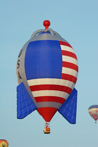 Rocket Hot Air Balloon