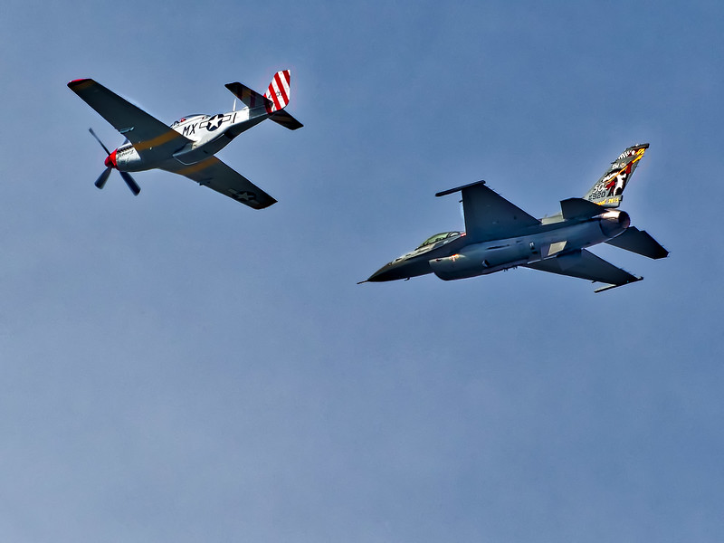 Vintage planes from  Sea and Sky Spectacular
