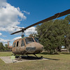 """UH-1 """"Huey"""" Helicopter at Camp Blanding"""