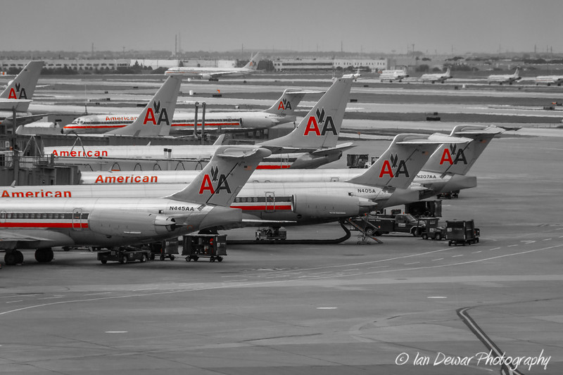American Airlines at Dallas Fort Worth