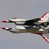 US airforce Thunderbirds Inverted