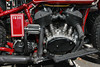 1930 Harley Davidson Motorcycle, close up of engine