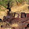 I found this old car behind an abandoned mine in Ruby, Arizona just 5 miles from the Mexican border.  I wonder what kind of hard life this old thing had living in the desert and high-desert areas in the 1920's.