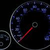 VW speedometer.