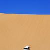 US Border Patrol. Chevy Suburban. California desert.