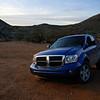 Dodge Durango SUV in Arizona mountain location.