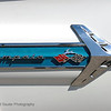 Detail of side of classic 1960's Chevrolet Impala