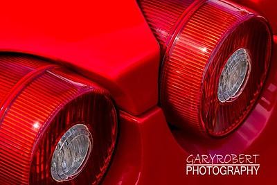Ferrari, F430, tail, lights