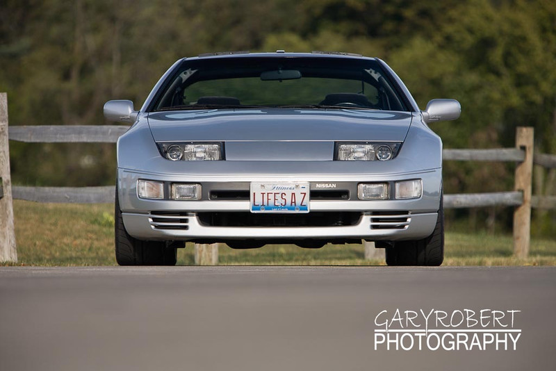 Nissan 300 ZX Twin Turbo Front View