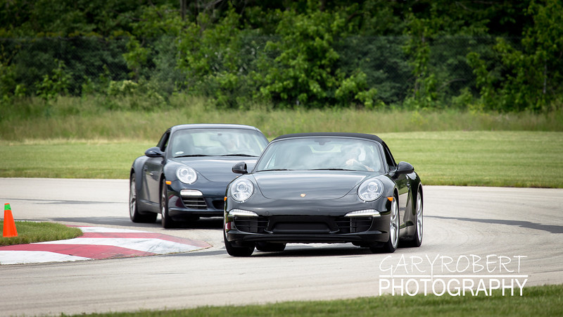 Porsches during the 6/5/13 Napleton Porsche Day at the Autobahn in Joliet, IL.