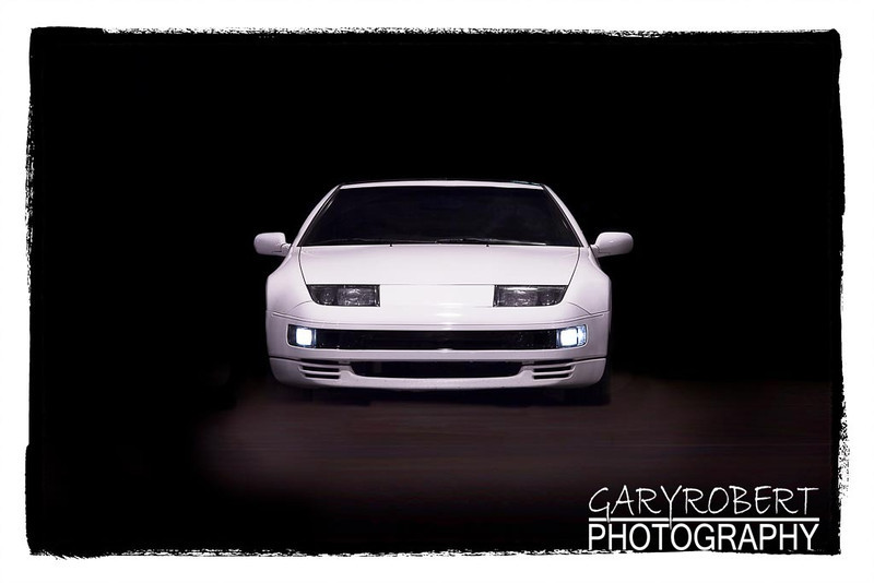 White Nissan 300ZX Twin Turbo