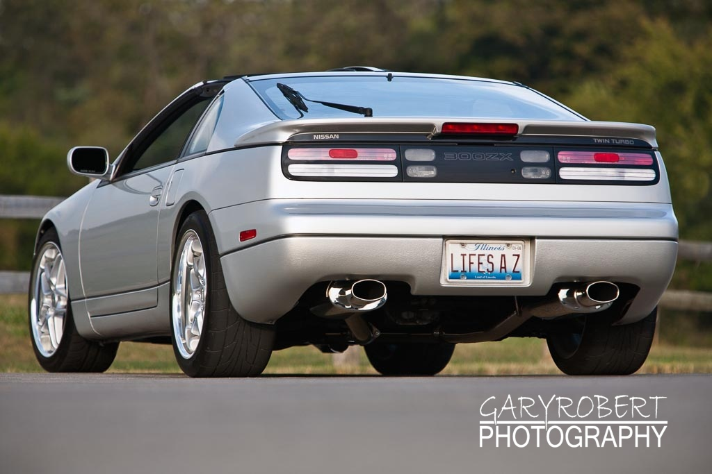 Nissan 300 ZX Twin Turbo Rear View