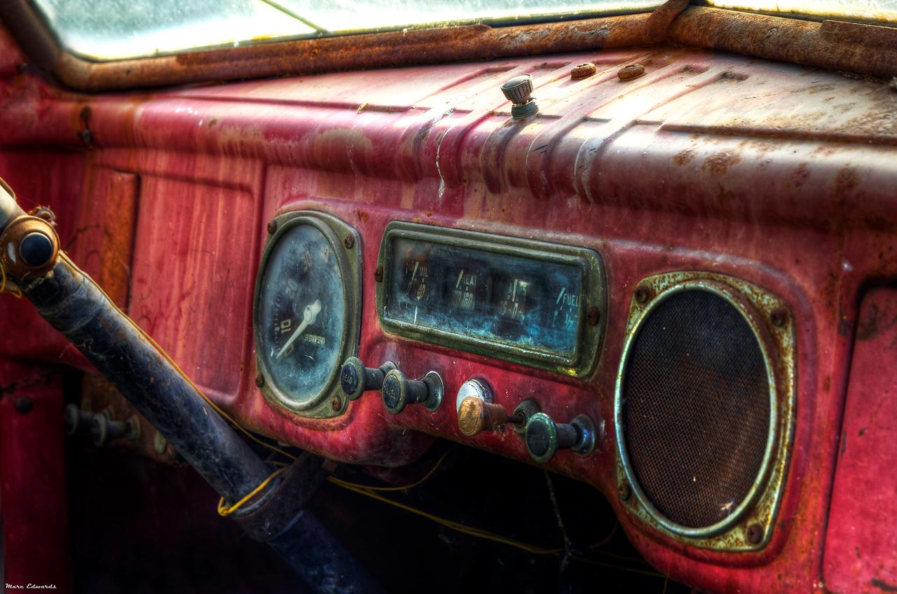 Mater<br /> truck, cars, hdr, dodge, utah, 1943, antelope island, marc edwards
