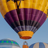 Hot Air Balloons Tethered Together