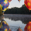 Hot Air Balloons in a Circle