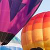 Multiple Hot Air Balloons