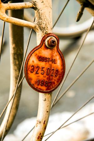 Tag a Bike. Brugge, Belgium.